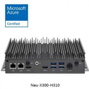 industrial fanless computer neu-x300-h310