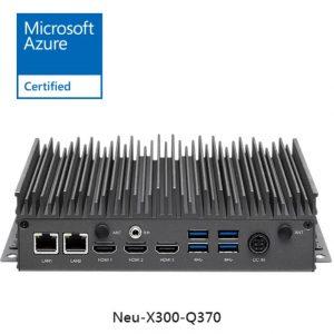 industrial fanless computer neu-x300-q370